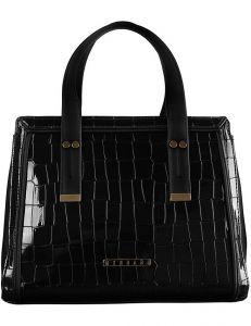 černá lakovaná kabelka monnari vel. ONE SIZE 150836-561189