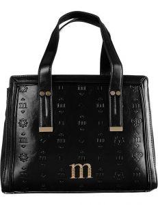 černá vzorovaná kabelka monnari vel. ONE SIZE 150847-561201