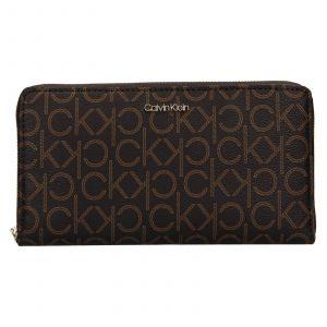 Dámská peněženka Calvin Klein Ginna – hnědá