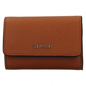 Dámská peněženko-kabelka Calvin Klein Minas – hnědá