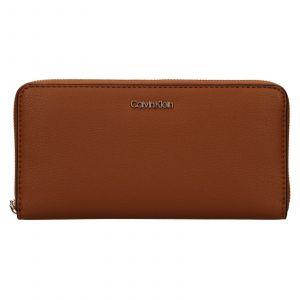 Dámská peněženka Calvin Klein Aroina – hnědá