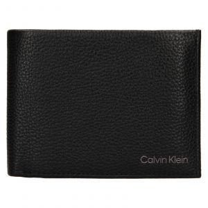Pánská kožená peněženka Calvin Klein Valer – černá