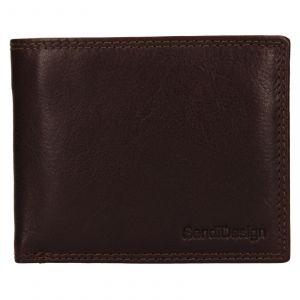 Pánská kožená peněženka SendiDesign Lopezz – brown