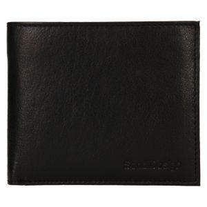 Pánská kožená peněženka SendiDesign Bredly – černá