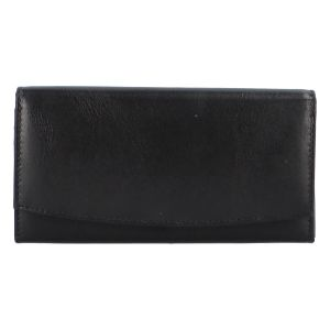 Dámská kožená peněženka černá – Tomas Suave černá