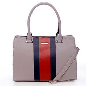 Exkluzivní dámská kabelka do ruky světle fialová – David Jones Shabanax fialová
