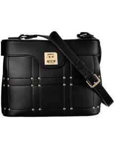 Monnari černá kabelka zdobená prošíváním vel. ONE SIZE 151867-566653