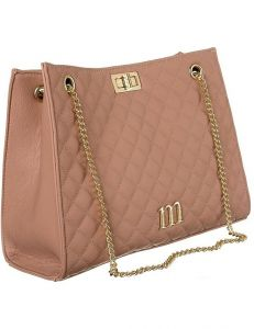 Monnari pudrová prošívaná elegantní kabelka vel. ONE SIZE 151870-566656