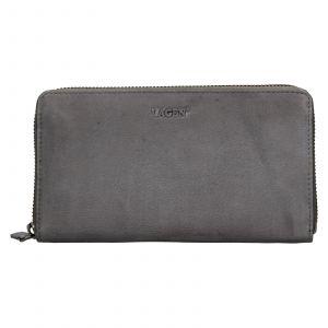Dámská kožená peněženka Lagen Libertad – šedá