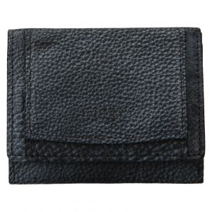 Dámská kožená slim peněženka Lagen Déborah – šedo-černá