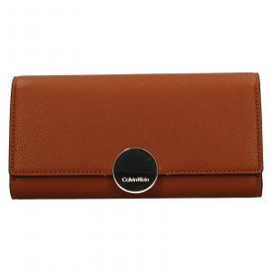 Dámská peněženka Calvin Klein Brenda – hnědá