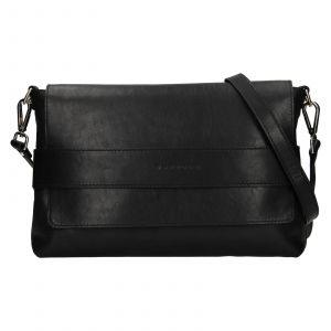 Dámská kožená kabelka Facebag Fabia – černá