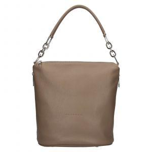 Dámská kožená kabelka Facebag Talma – taupe