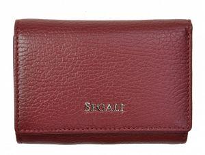 SEGALI Dámská kožená peněženka 7106 B bordo