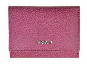 SEGALI Dámská kožená peněženka 7106 B fuchsia