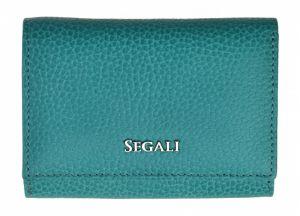 SEGALI Dámská kožená peněženka 7106 B capri sea