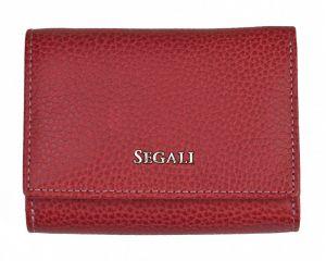 SEGALI Dámská kožená peněženka 7106 B carmine