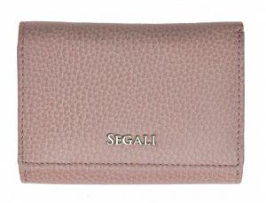 SEGALI Dámská kožená peněženka 7106 B baby pink