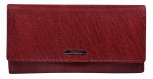 SEGALI Dámská kožená peněženka 7120 portwine