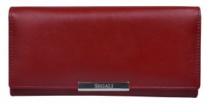 SEGALI Dámská kožená peněženka 7066 red