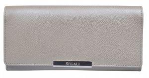 SEGALI Dámská kožená peněženka 7066 silver