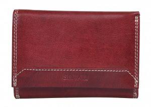 SEGALI Dámská kožená peněženka 7023 Z portwine