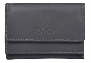 SEGALI Dámská kožená peněženka 1756 grey