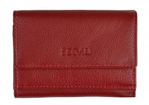 SEGALI Dámská kožená peněženka 1756 red