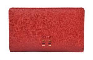 SEGALI Dámská kožená peněženka 7051 ST red