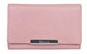 SEGALI Dámská kožená peněženka 7074 baby pink