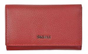 SEGALI Dámská kožená peněženka 7074 red