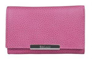 SEGALI Dámská kožená peněženka 7074 fuchsia