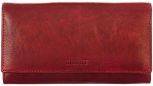 SEGALI Dámská kožená peněženka 28 portwine