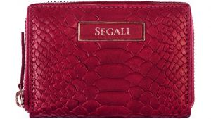 SEGALI Dámská kožená peněženka 910 19 489 pink