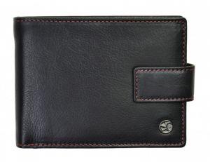 SEGALI Pánská kožená peněženka 907 114 2007 C black/red
