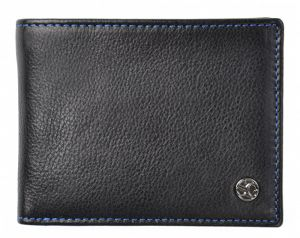 SEGALI Pánská kožená peněženka 907 114 026 black/blue