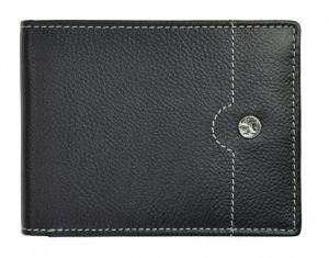 SEGALI Pánská kožená peněženka 755 139 2007 black/cognac