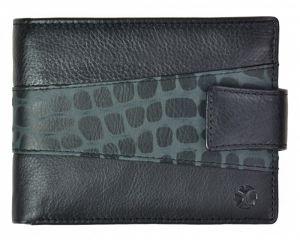 SEGALI Pánská kožená peněženka 61325 CC black
