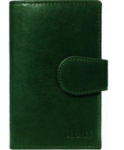 SEGALI Dámská kožená peněženka 9023 A green