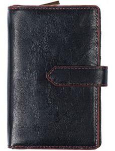 SEGALI Dámská kožená peněženka 3743 black/red