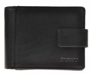 SEGALI Pánská kožená peněženka 3491 black