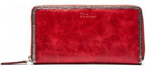 SEGALI Dámská kožená peněženka 612 06 9086 fiama red