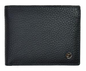 SEGALI Pánská kožená peněženka 725 166 2071 black/grey