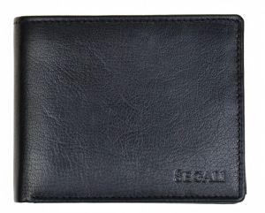 SEGALI Pánská kožená peněženka 7265 black
