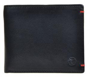 SEGALI Pánská kožená peněženka 7108 black