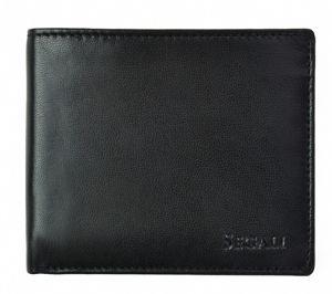 SEGALI Pánská kožená peněženka 7479 black