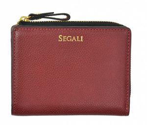 SEGALI Dámská kožená peněženka 7412 portwine