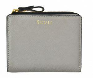 SEGALI Dámská kožená peněženka 7412 taupe