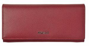 SEGALI Dámská kožená peněženka 7409 rojo