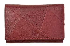 SEGALI Dámská kožená peněženka 10035 portwine